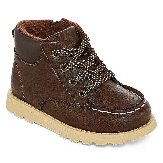 Carter's Toddler Boys Brand Booties Flat Heel