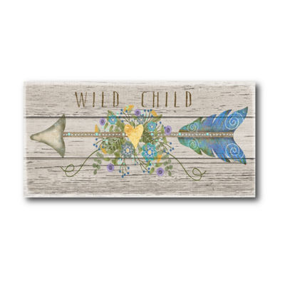 Wild Child Canvas Art