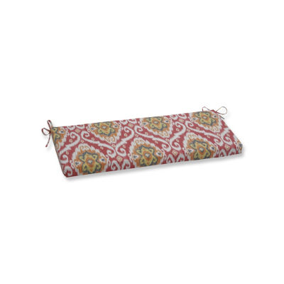 Pillow Perfect Ubud Coral Patio Bench Cushion