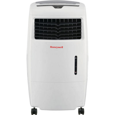 Honeywell 500 CFM Indoor Evaporative Air Cooler (Swamp Cooler) with Remote Control in White