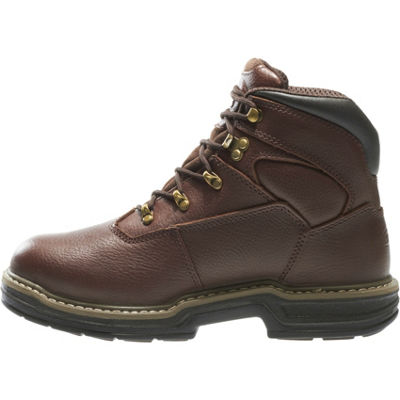 Wolverine Mens Buccaneer Lace Up Waterproof Slip Resistant Work Boots Lace-up