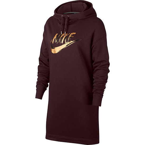 Nike Long Sleeve Sheath Dress