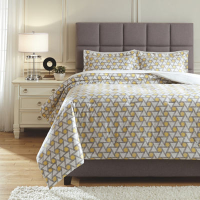 Signature Design by Ashley® Clio 3-Pc Comforter Set