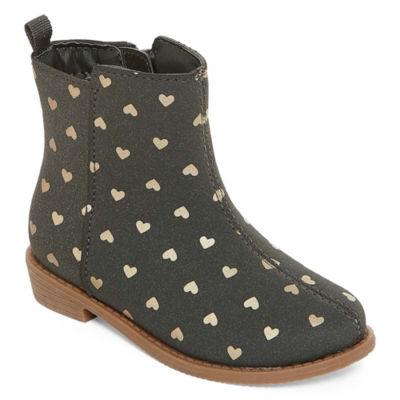 Carter's Girls Carley Bootie Heel Zip Flat