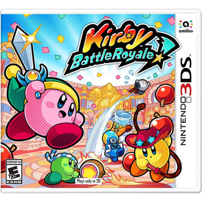 Nintendo 3DS Kirby: Battle Royale Video Game
