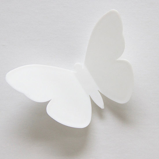 Brewster Wall Butterfly Meadow 3D Wall Kit Twin Pack Wall Decal