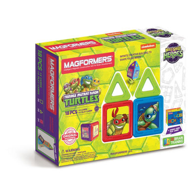 Magformers Teenage Mutant Ninja Turtles 18 PC. Set