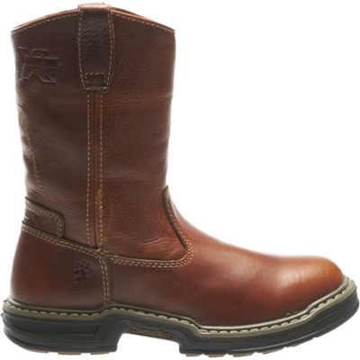 Wolverine Mens Raider Slip Resistant Work Boots Pull-on