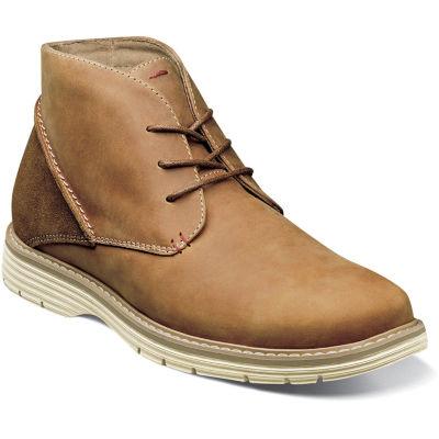 Nunn Bush Mens Littleton Chukka Lace-up Flat Heel Boots