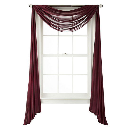 JCPenney Home Cherise Scarf Valance