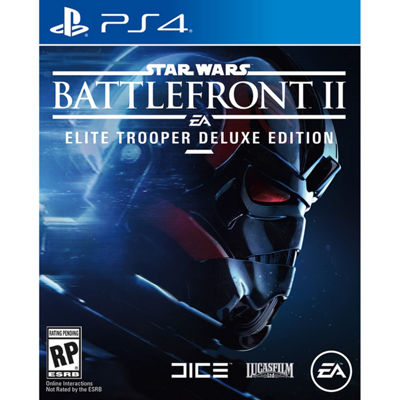 Playstation 4 Star Wars Battlefront II: Elite Trooper Deluxe Edition Video Game