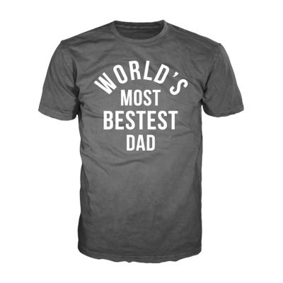 Father's Day Bestest Dad Graphic Tee