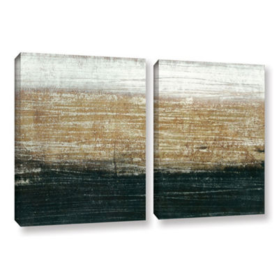 Sandstorm 2-pc Set Gallery Wrapped Canvas