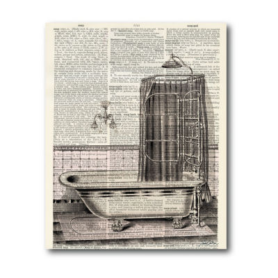 Bathtub Ii Canvas Art