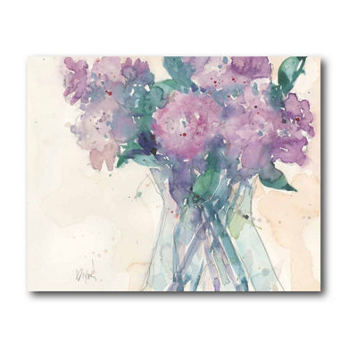 Something Floral II Canvas Art