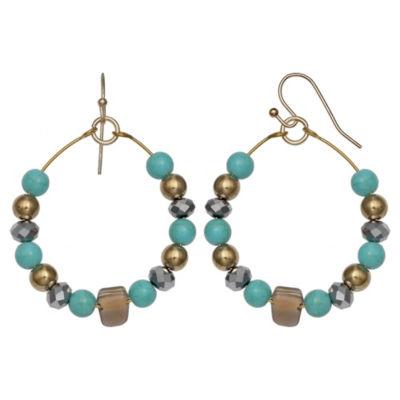 Mixit 2 Inch Hoop Earrings