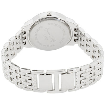 Womens Silver Tone Bracelet Watch-St2452s695-004