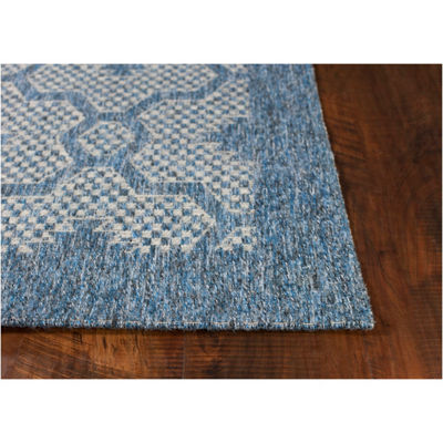 KAS Farmhouse Mosaic Rectangular Rugs