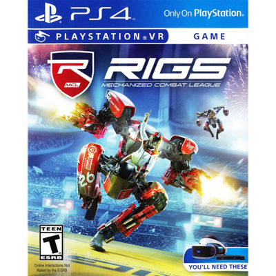 Playstation 4 Psvr Rigs: Mechanized Combat League Video Game
