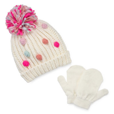 Capelli of N.Y. 3-pc. Cold Weather Set-Big Kid Girls