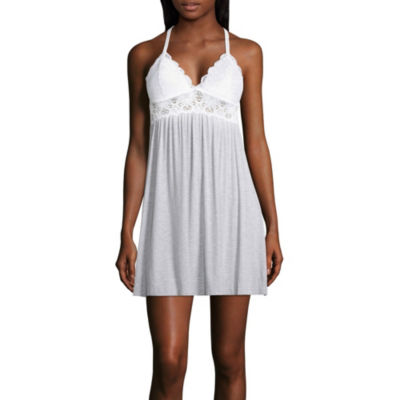 Daisy Fuentes Knit and Lace Chemise