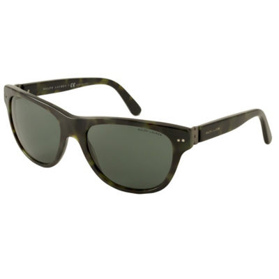Polo Ralph Lauren Sunglasses - Ph4080 / Frame: Green Tortoise Lens: Green