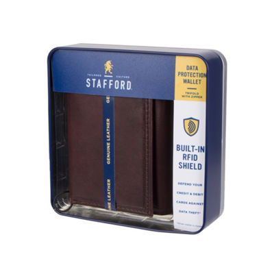 Stafford Mens Tri Fold Wallet