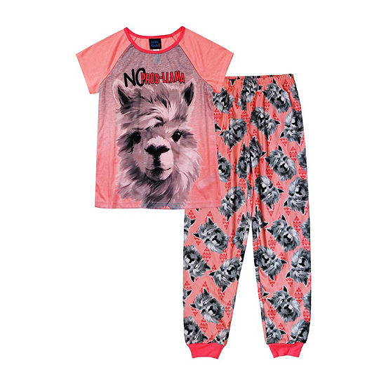 Jelli Fish Kids Little Girls 2-pc. Pant Pajama Set