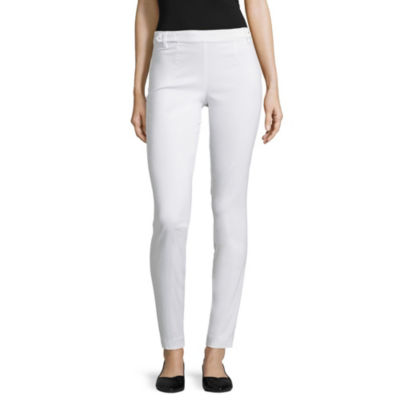 Hollywould Skinny Fit Woven Pull-On Pants-Juniors