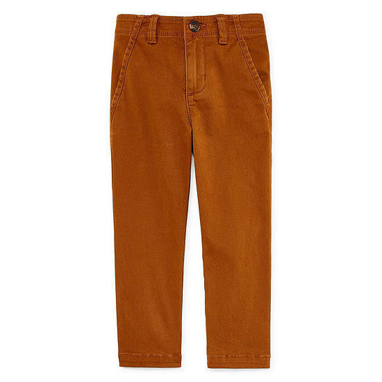 Peyton & Parker Flat Front Pants-Toddler Boys