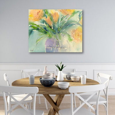 Something Floral III Canvas Art