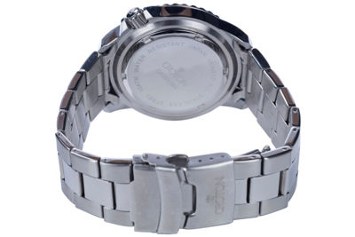Croton N/A Mens Two Tone Bracelet Watch-Ca301295ttbl