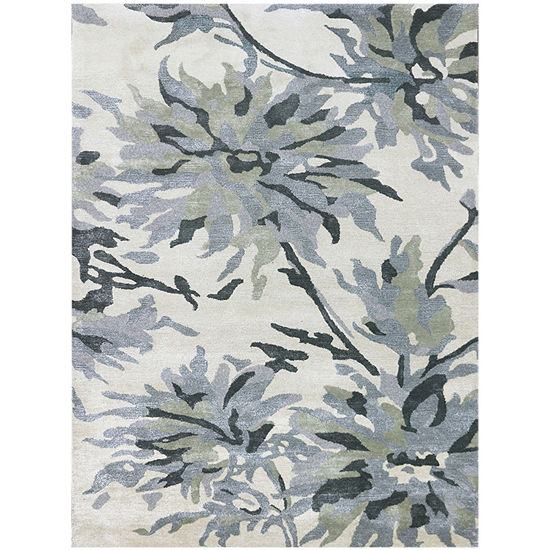 Amer Rugs Shimmer Aa Hand Tufted Wool And Viscose Rug