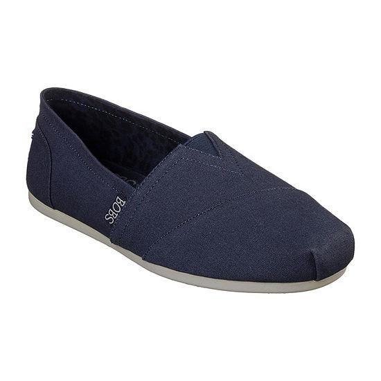 Skechers Bobs Womens Walking Shoes Slip-on