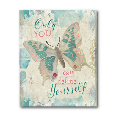 Only You Can Define Yourself Canvas Art
