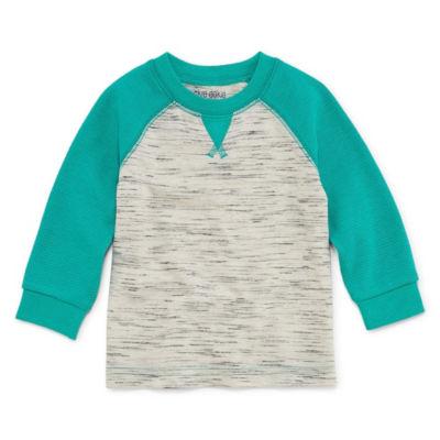 Okie Dokie Long Sleeve Thermal T-Shirt-Baby Boy NB-24M