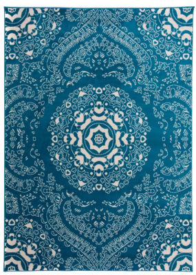 World Rug Gallery Transitional Medallion Design Floral Area Rug