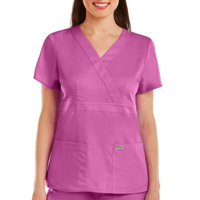 Barco™ Grey's Anatomy 4153 3-Pocket Mock Wrap Top