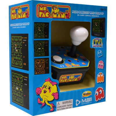 Tv Arcade Ms Pacman