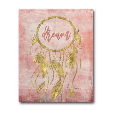 Love Dreamcatcher Canvas Art