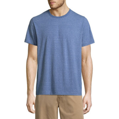 St. John's Bay Mens Crew Neck Short Sleeve T-Shirt-Slim