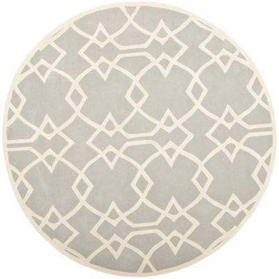 Safavieh Capri Collection Cindra Geometric Round Area Rug