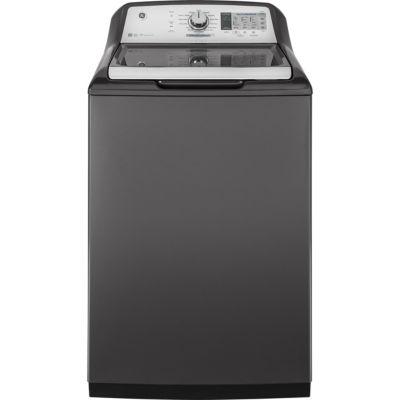 GE® ENERGY STAR® 4.9 DOE  cu. ft. Stainless Steel Capacity Washer
