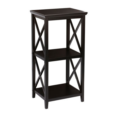 River Ridge Home 3-Shelf Etagere Open Bookcase