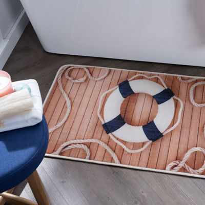 Tayse Lifesaver Novelty Anti-Fatigue Comfort Kitchen Mat