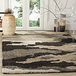Safavieh Shag Collection Aleah Camouflage Square Area Rug