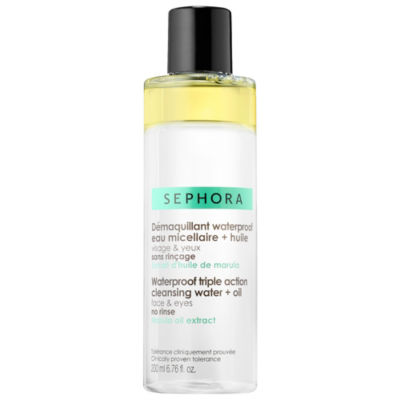 SEPHORA COLLECTION Waterproof Triple Action Cleansing Water + Oil