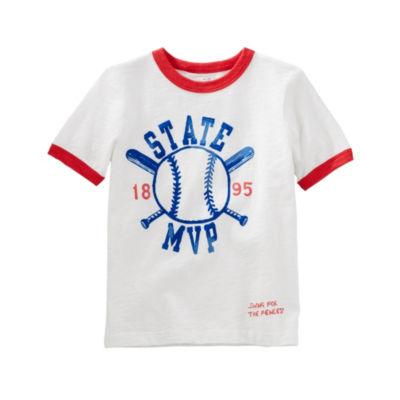Oshkosh Short Sleeve T-Shirt-Preschool Boys