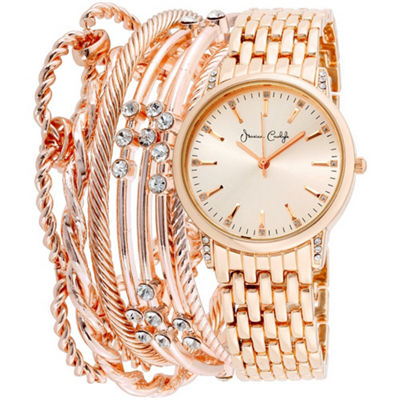 Womens Rose Goldtone Bracelet Watch-St2452rg695-524