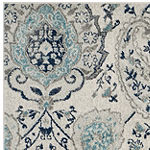 Safavieh Madison Collection Baldric Floral Square Area Rug